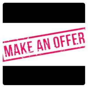 Make An offer!! Bundles too!